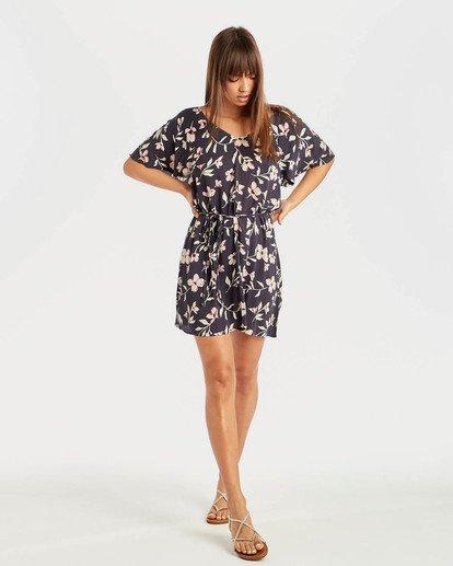 4 Fine Flutter Dress Negro N3DR17BIP9 Billabong