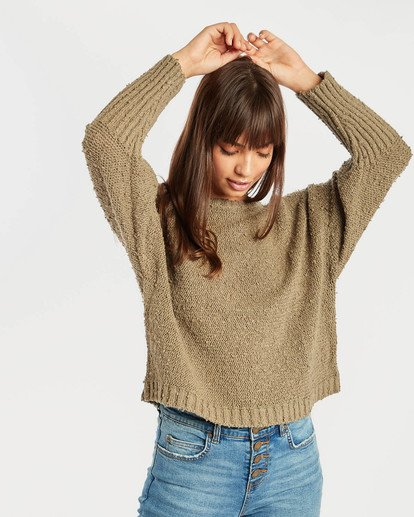 2 Easy Going Sweater Vert N3JP02BIP9 Billabong