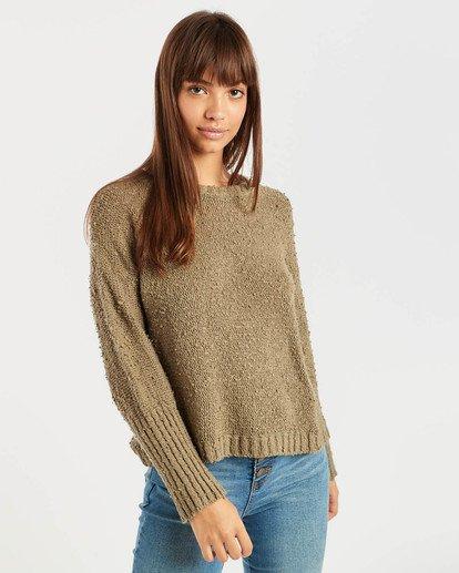 3 Easy Going Sweater Vert N3JP02BIP9 Billabong