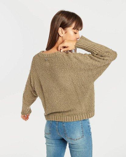 4 Easy Going Sweater Vert N3JP02BIP9 Billabong