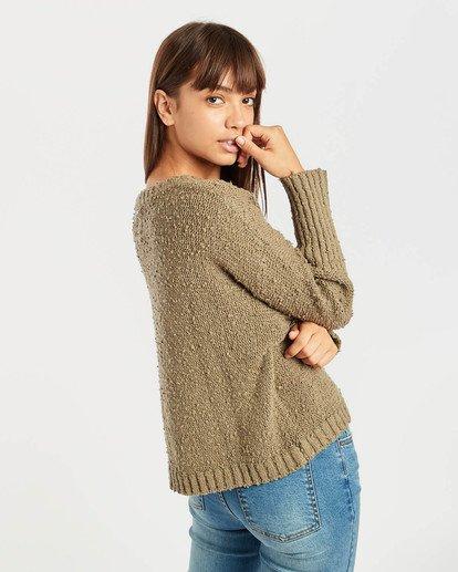 5 Easy Going Sweater Vert N3JP02BIP9 Billabong