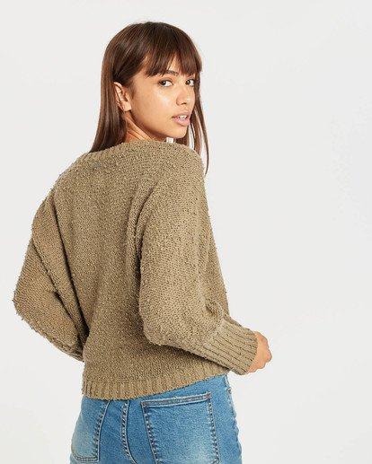 6 Easy Going Sweater Vert N3JP02BIP9 Billabong