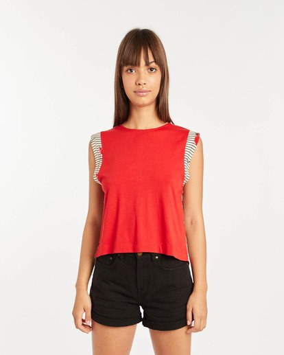 0 Karma Shirt Rojo N3KT04BIP9 Billabong