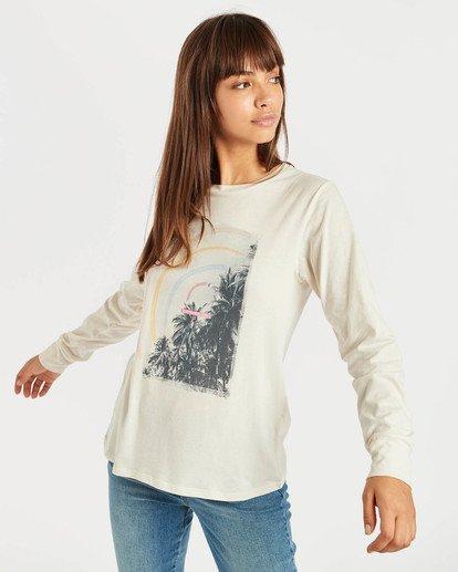 1 High Tide Long Sleeve T-Shirt Beige N3LS01BIP9 Billabong