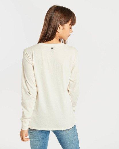 2 High Tide Long Sleeve T-Shirt Beige N3LS01BIP9 Billabong