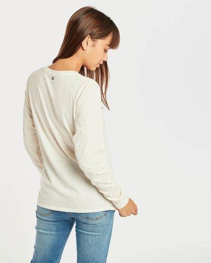 3 High Tide Long Sleeve T-Shirt Beige N3LS01BIP9 Billabong
