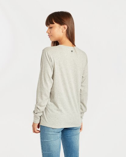 2 Shining Sun Long Sleeve T-Shirt Gris N3LS03BIP9 Billabong