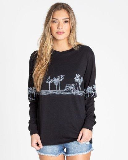 0 Coast To Coast Long Sleeve T-Shirt Noir N3LS04BIMU Billabong