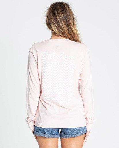 2 Beach Dream Long Sleeve T-Shirt Rose N3LS05BIMU Billabong