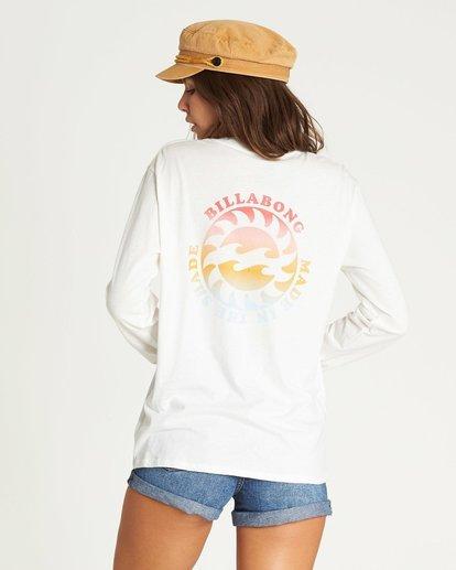1 Made In The Shade Long Sleeve T-Shirt Beige N3LS06BIMU Billabong