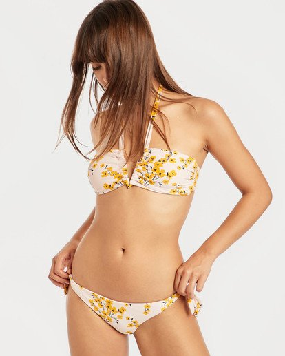 3 Sol Dawn Tanga Bikini Bottoms Rosa N3SB26BIP9 Billabong