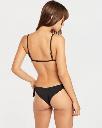 6 Sweet Sands Tanga Bikini Bottoms Negro N3SB32BIP9 Billabong