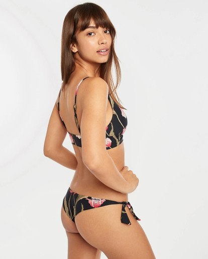 3 Mellow Luv Tanga Bikini Bottoms Noir N3SB45BIP9 Billabong