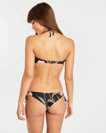4 Mellow Luv Tanga Bikini Bottoms Noir N3SB45BIP9 Billabong