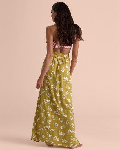 3 High Heights Skirt Gelb N3SK03BIP9 Billabong
