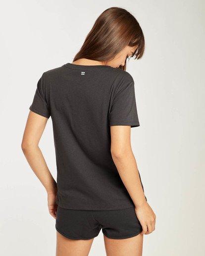 3 Legacy T-Shirt Schwarz N3SS01BIP9 Billabong