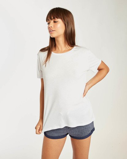 0 Beach Day T-Shirt Blanco N3SS02BIP9 Billabong