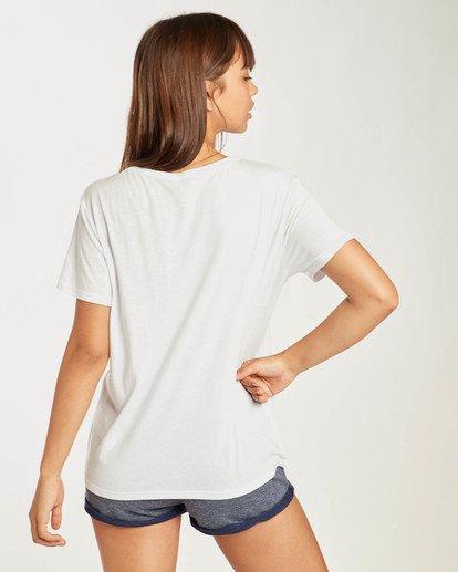 5 Beach Day T-Shirt Weiss N3SS02BIP9 Billabong