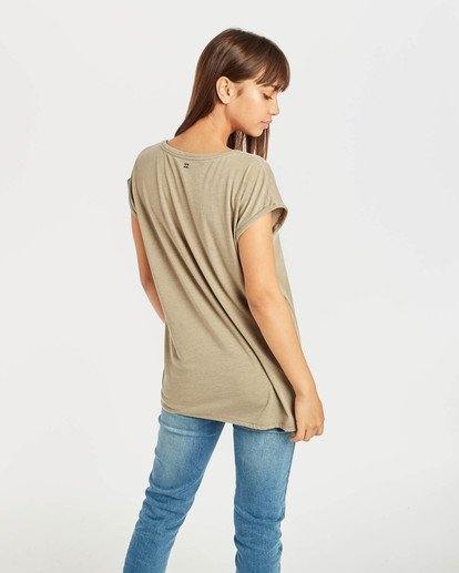 3 All Night T-Shirt Vert N3SS03BIP9 Billabong