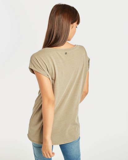 4 All Night T-Shirt Grün N3SS03BIP9 Billabong