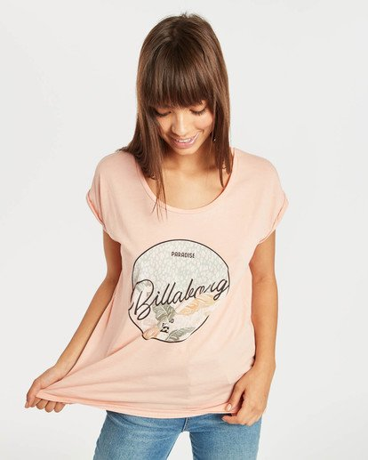 1 All Night T-Shirt Rojo N3SS03BIP9 Billabong
