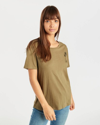 0 Bondy T-Shirt Grün N3SS04BIP9 Billabong