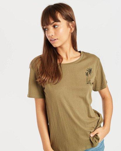 2 Bondy T-Shirt Grün N3SS04BIP9 Billabong