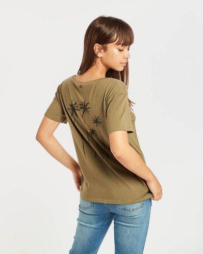3 Bondy T-Shirt Verde N3SS04BIP9 Billabong