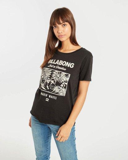 0 First T-Shirt Noir N3SS05BIP9 Billabong