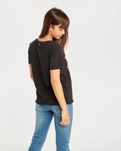 2 First T-Shirt Noir N3SS05BIP9 Billabong