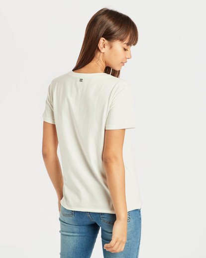 3 First T-Shirt Beige N3SS05BIP9 Billabong
