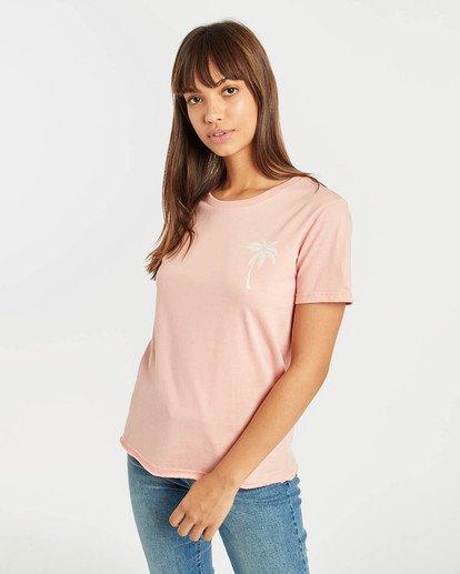 0 First T-Shirt Rojo N3SS05BIP9 Billabong