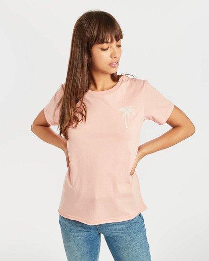 1 First T-Shirt Rojo N3SS05BIP9 Billabong