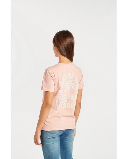 2 First T-Shirt Rojo N3SS05BIP9 Billabong