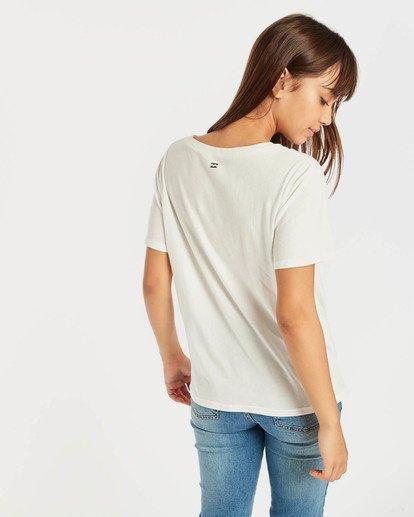 3 Coco T-Shirt Beige N3SS08BIP9 Billabong