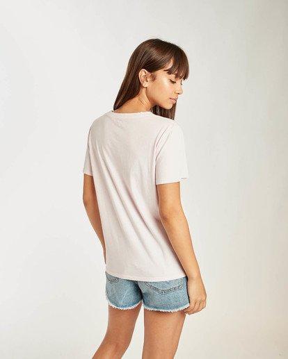 3 Salt Wash T-Shirt Rosa N3SS09BIP9 Billabong