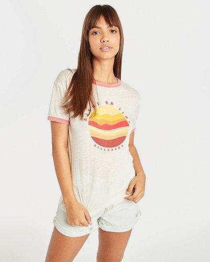 0 Ringer T-Shirt Beige N3SS11BIP9 Billabong