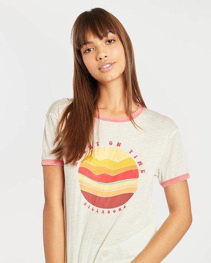 1 Ringer T-Shirt Beige N3SS11BIP9 Billabong