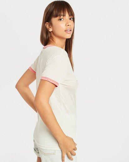 4 Ringer T-Shirt Beige N3SS11BIP9 Billabong