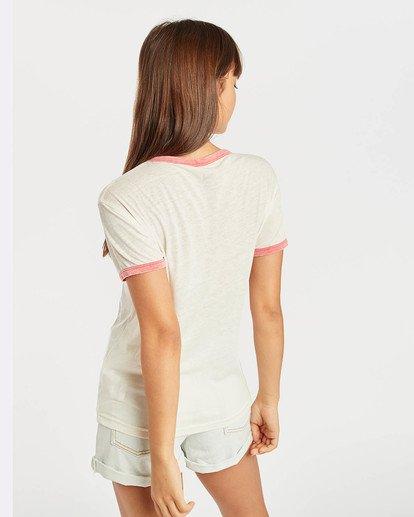 5 Ringer T-Shirt Beige N3SS11BIP9 Billabong