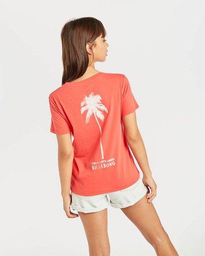 2 Cosmo T-Shirt Rouge N3SS13BIP9 Billabong