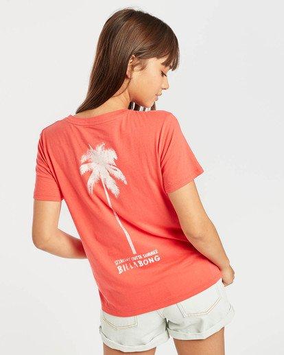 3 Cosmo T-Shirt Rouge N3SS13BIP9 Billabong