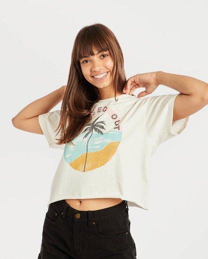 2 Mad World T-Shirt Beige N3SS14BIP9 Billabong