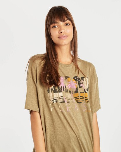 0 True Boy T-Shirt Grün N3SS16BIP9 Billabong