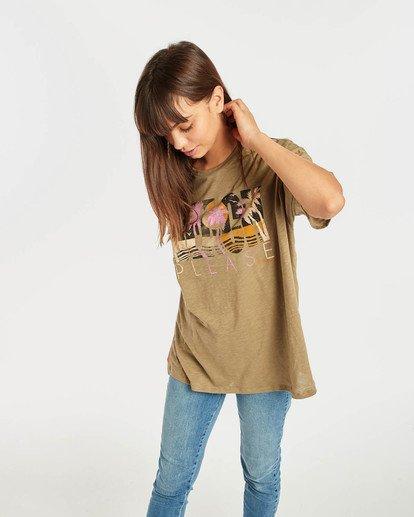 2 True Boy T-Shirt Grün N3SS16BIP9 Billabong