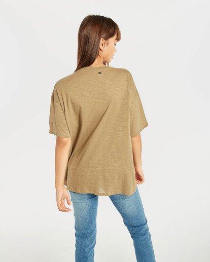 3 True Boy T-Shirt Grün N3SS16BIP9 Billabong