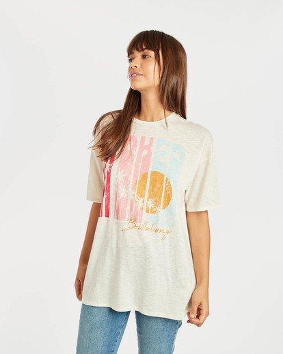 1 True Boy T-Shirt Beige N3SS16BIP9 Billabong