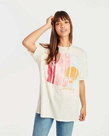 2 True Boy T-Shirt Beige N3SS16BIP9 Billabong