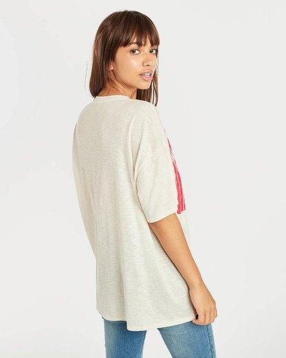 3 True Boy T-Shirt Beige N3SS16BIP9 Billabong