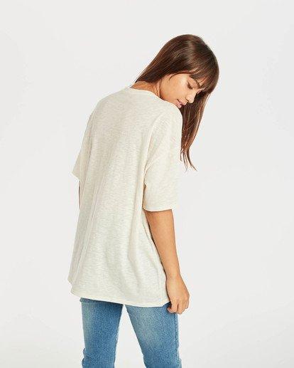 4 True Boy T-Shirt Beige N3SS16BIP9 Billabong